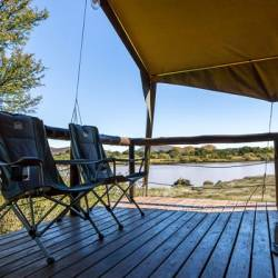 1280 Waschbank River Lodge Orange River Safari Tent Deck  Thm